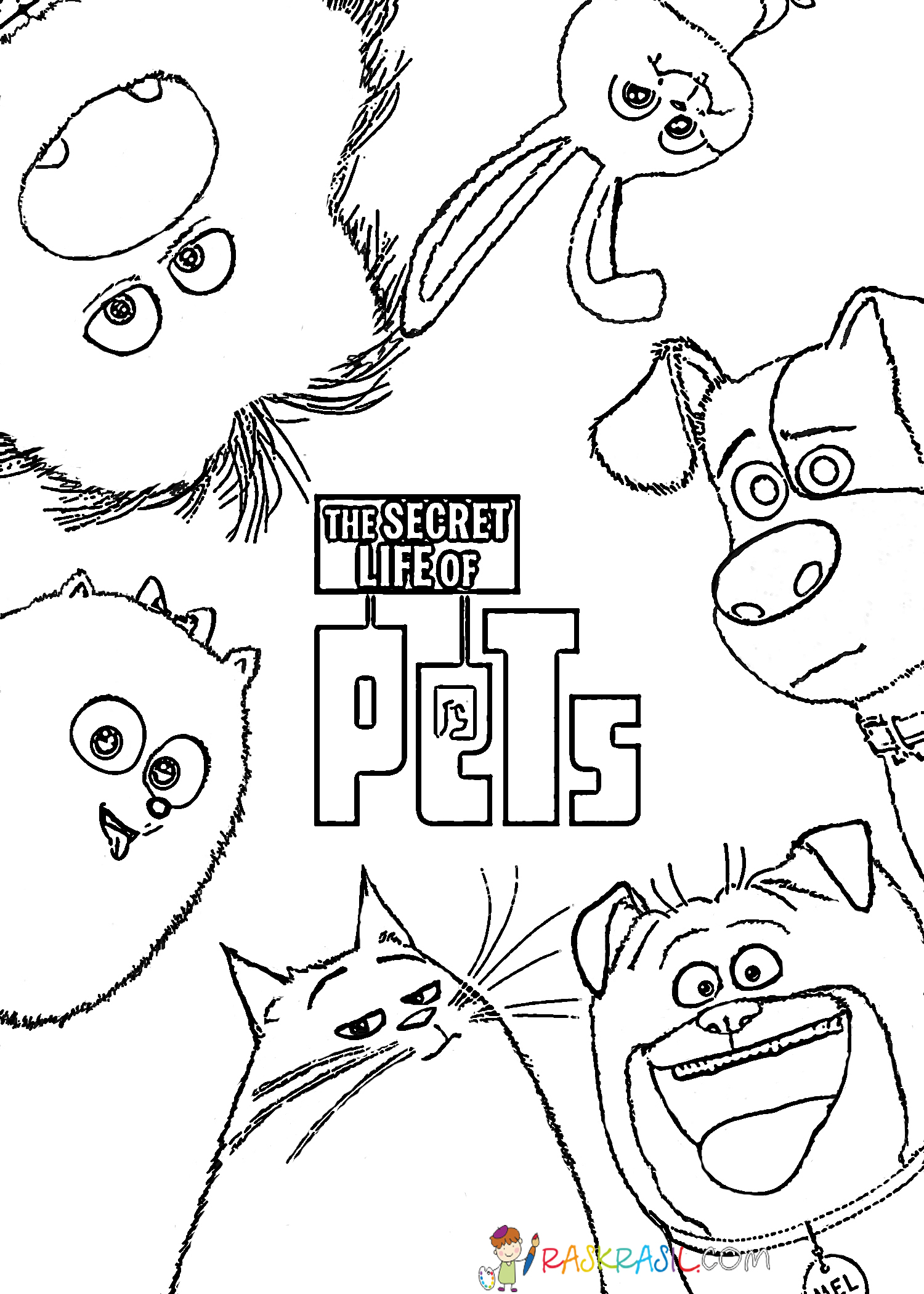 little life pets coloring pages max from the secret life of pets coloring page free pets coloring life pages little