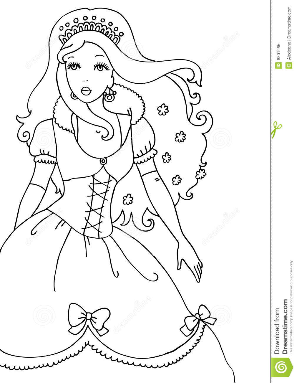 little princess coloring coloring page for little princesses princess coloring little
