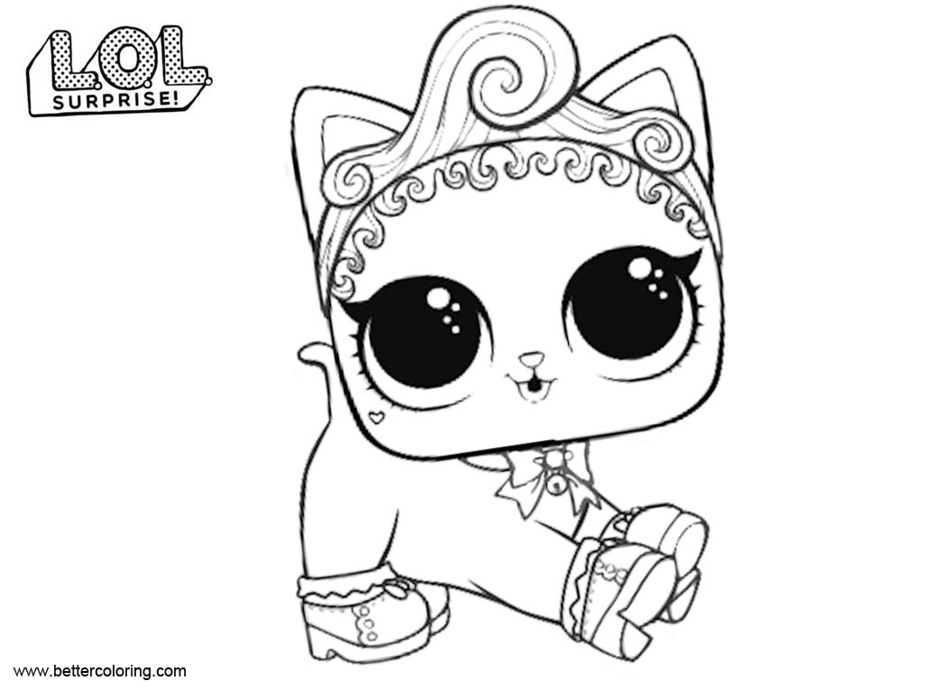 lol doll cat coloring pages coloring pages lol surprise doll coloring pages printable cat coloring pages cat doll lol