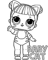 lol doll cat coloring pages lol surprise coloring pages kitty queen lol surprise lol doll pages coloring cat
