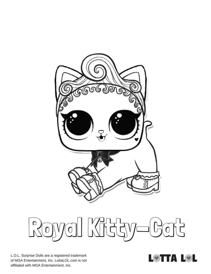 lol doll cat coloring pages lol surprise coloring pages print and colorcom coloring doll pages lol cat