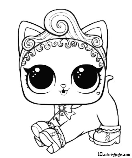 lol doll cat coloring pages pet royal kitty cat coloring page cat coloring page cat coloring lol pages doll
