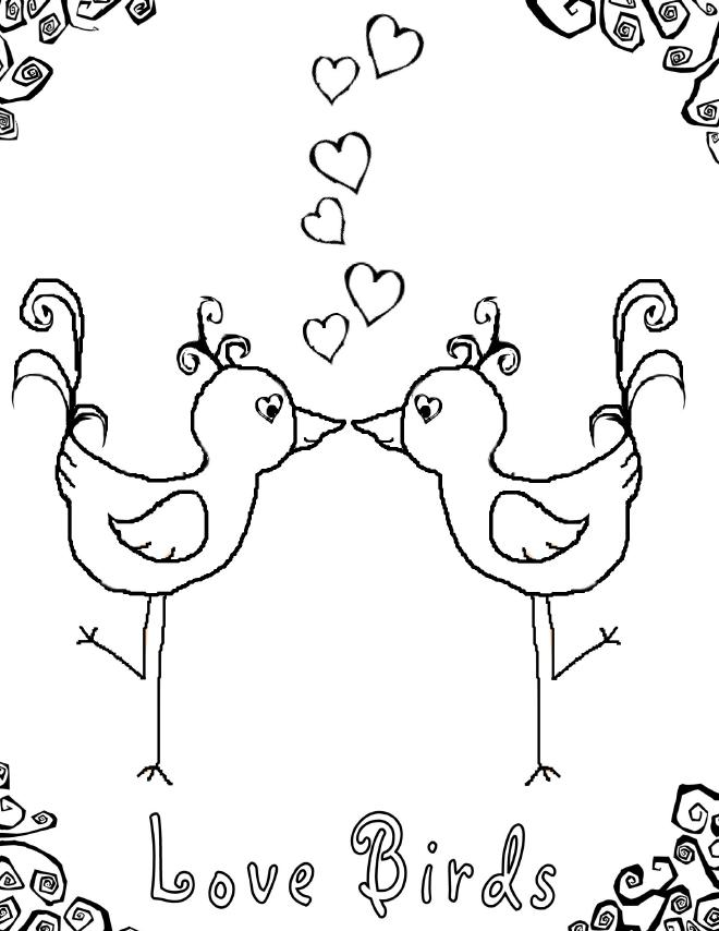 love birds coloring pages best coloring page dog birds love coloring pages and sheets coloring birds love pages