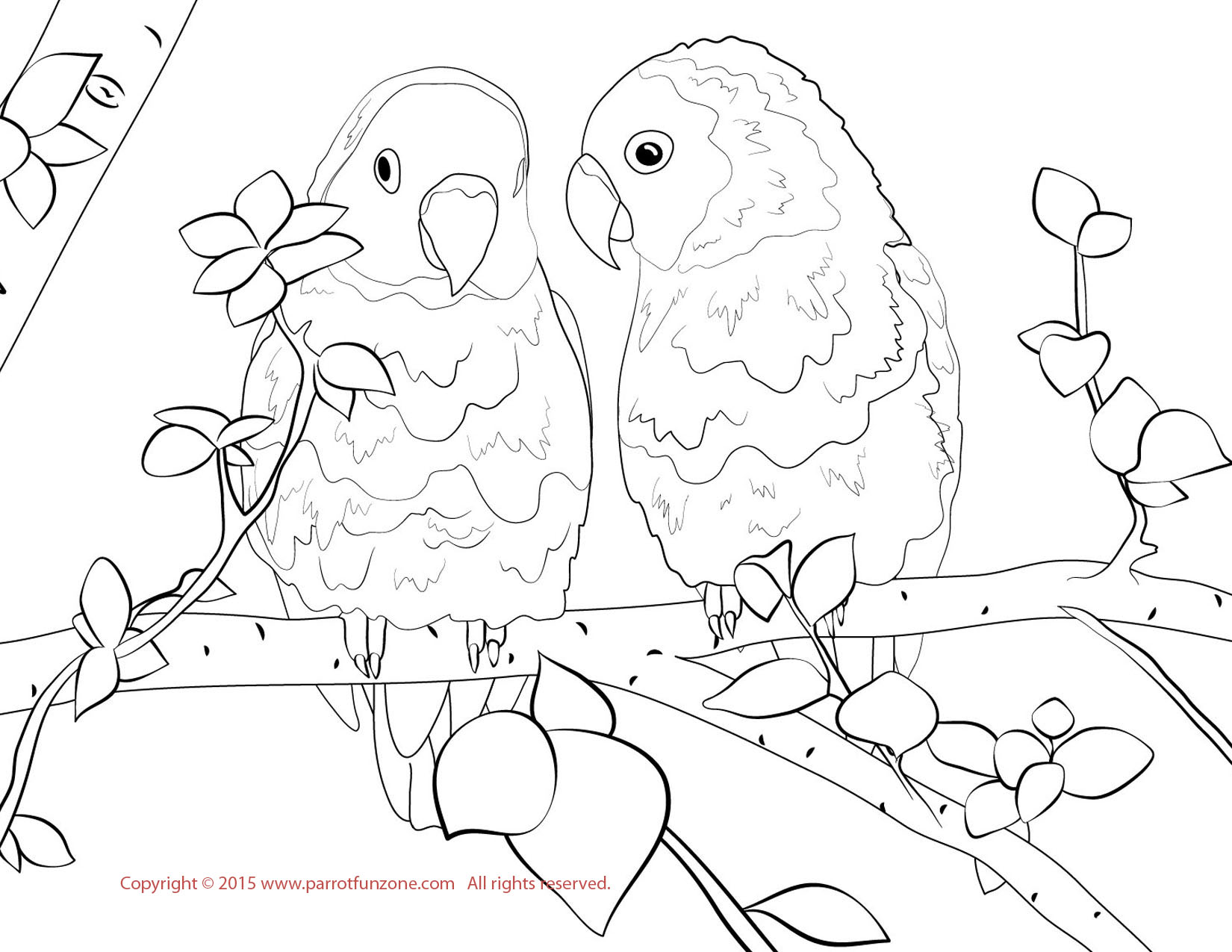 love birds coloring pages birds in love animal coloring pages for kids to print love coloring pages birds
