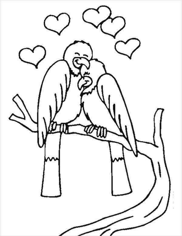 love birds coloring pages cool angry birds love coloring page love coloring pages love pages coloring birds