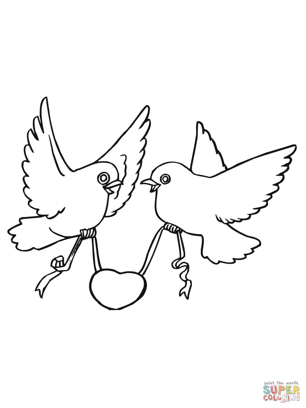 love birds coloring pages cute love birds coloring pages print color craft love birds pages coloring