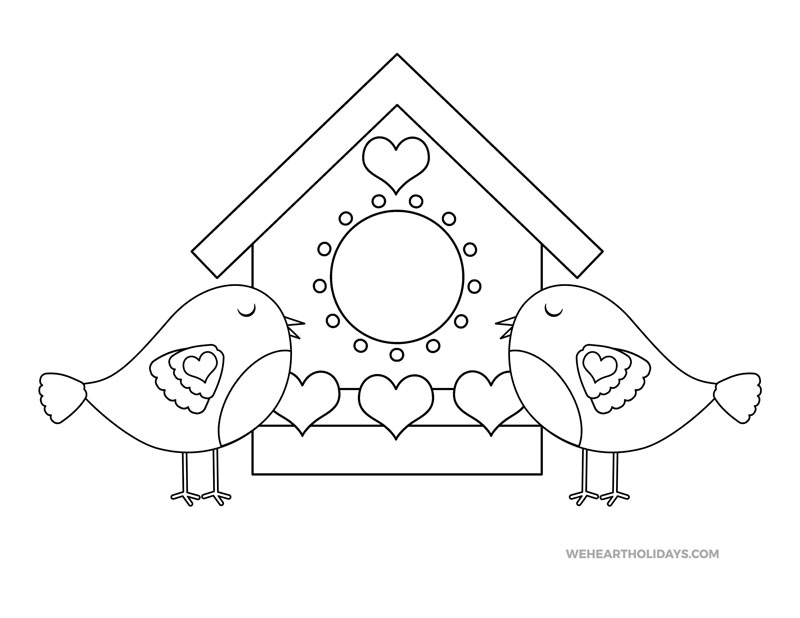 love birds coloring pages free 9 valentine39s day coloring pages in psd ai pages love coloring birds