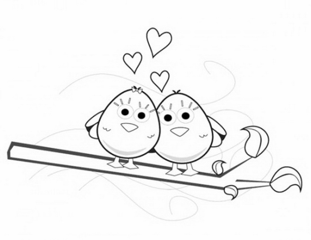 love birds coloring pages how to draw a lovebird step by step birds animals free pages birds love coloring