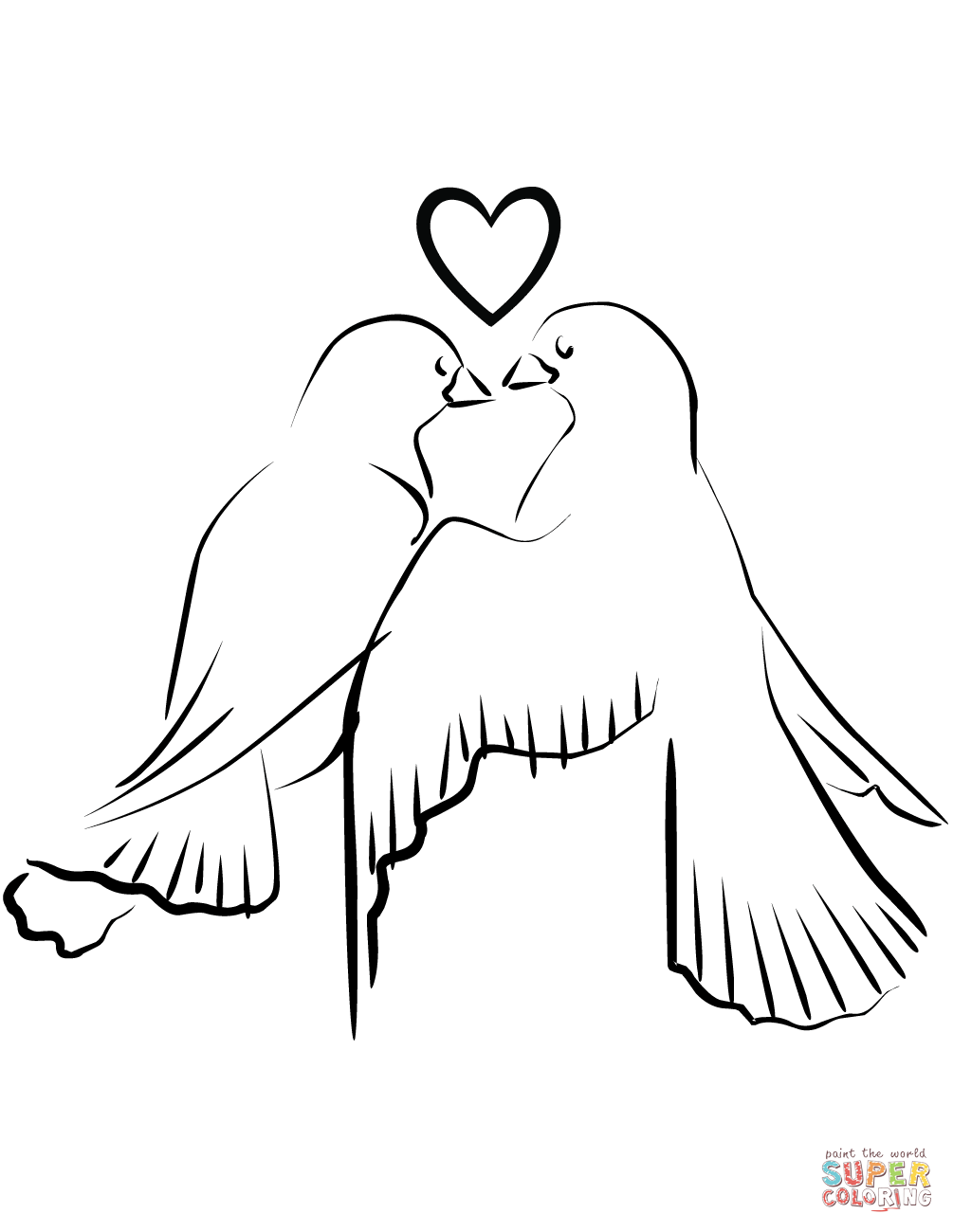 love birds coloring pages love birds coloring page woo jr kids activities love coloring pages birds