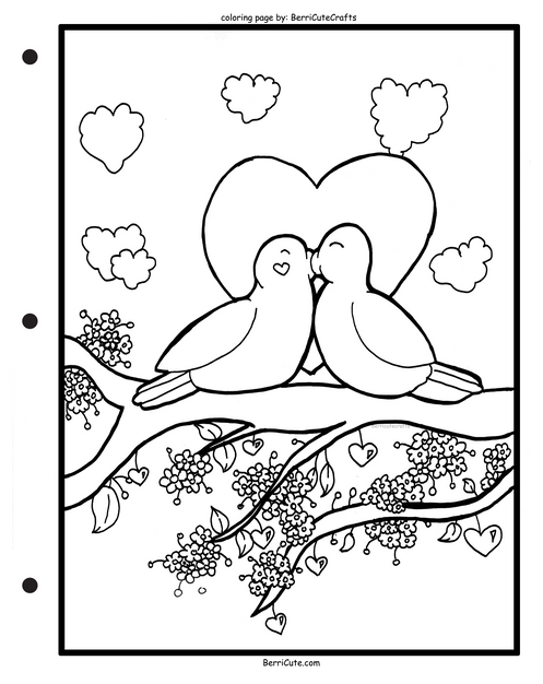 love birds coloring pages love birds coloring pages coloring home pages coloring birds love