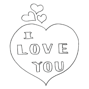 love heart coloring pages heart shaped box i love you coloring page coloring sky pages love coloring heart