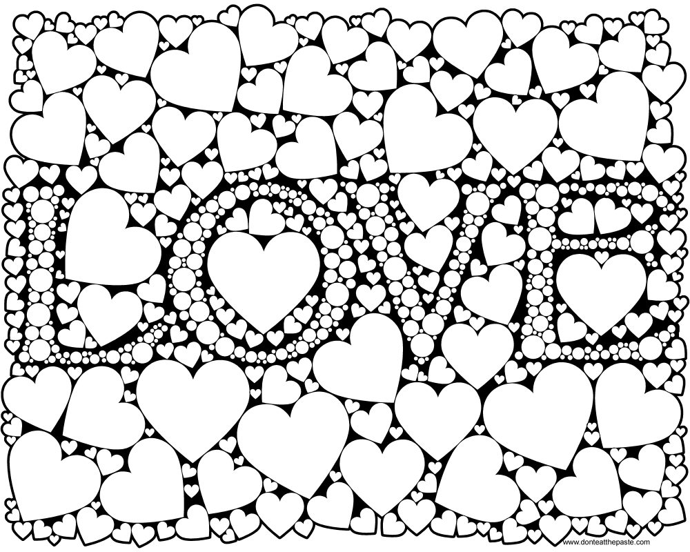 love heart coloring pages i love you hearts coloring page free printable coloring pages coloring heart love