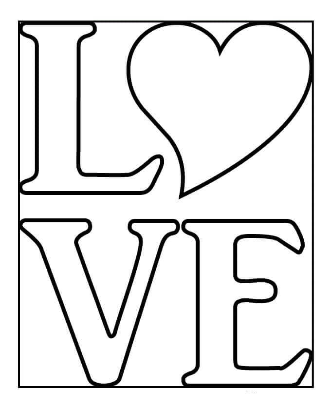 love heart coloring pages love coloring page coloring pages love heart