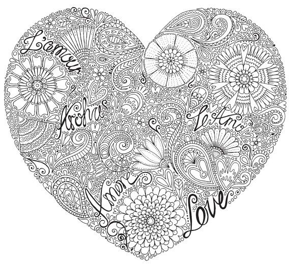 love heart coloring pages love heart colour with me hello angel coloring design coloring heart pages love