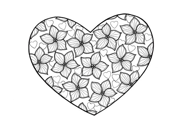 love heart coloring pages love hearts coloring pages gtgt disney coloring pages coloring love pages heart