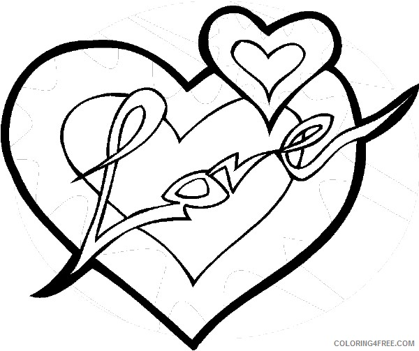 love heart coloring pages valentine love heart colouring pages free transparent heart coloring love pages