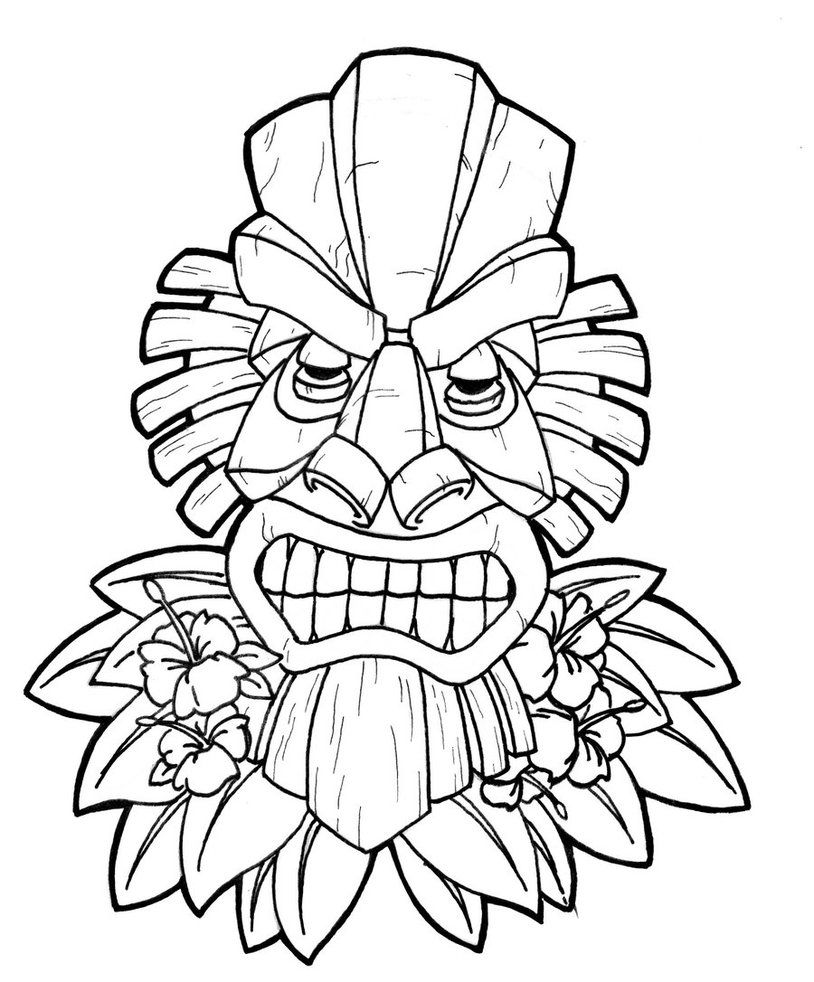 luau coloring pages luau coloring pages free printables coloring home pages luau coloring 1 1
