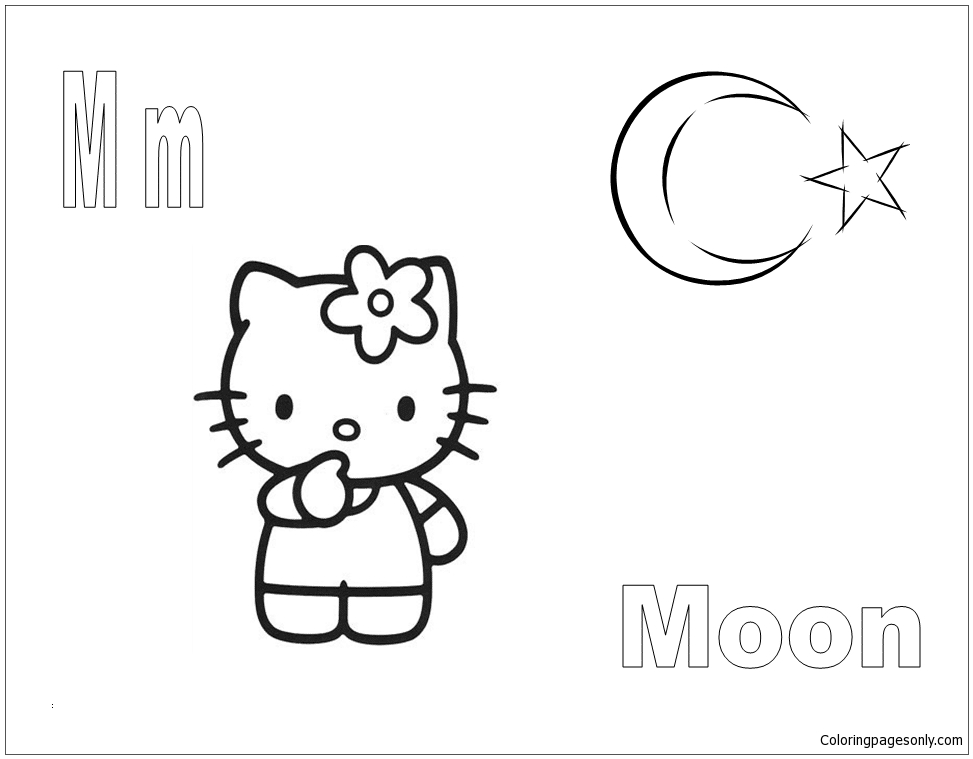 m is for moon coloring page letter m is for moon coloring page free coloring pages page coloring m is moon for