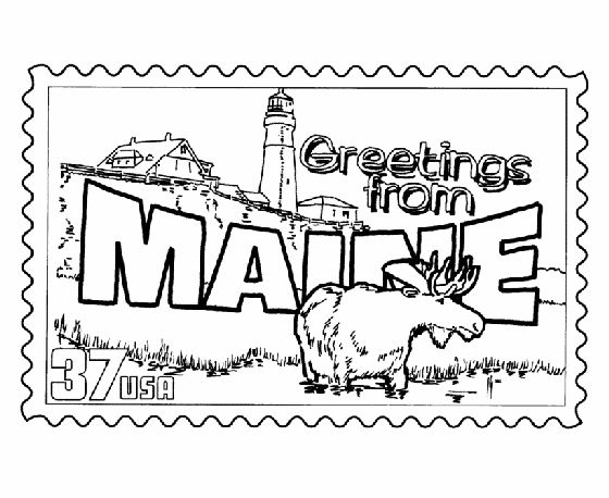 maine coloring pages free map of each state alabama maryland state maps maine pages coloring