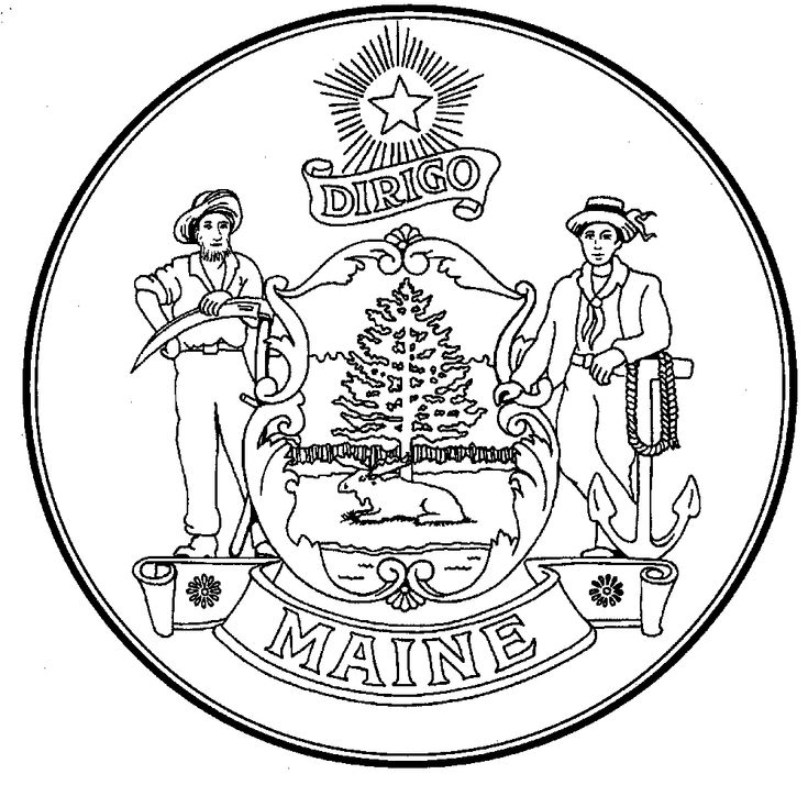 maine coloring pages maine coloring page by doodle art alley coloring pages pages maine coloring