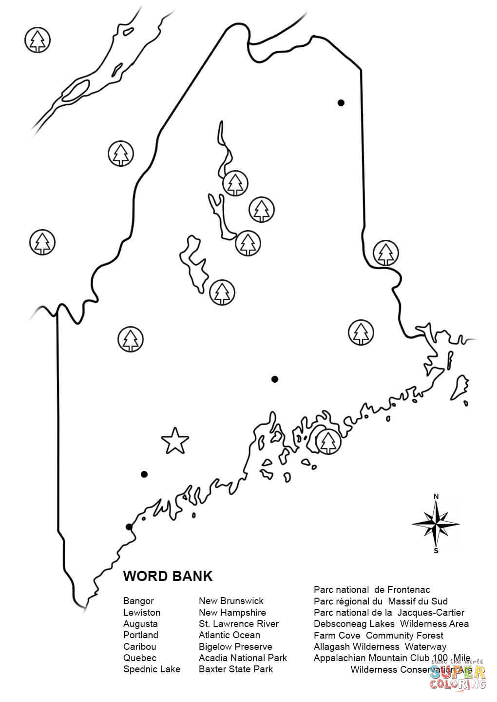 maine coloring pages maine state flower coloring page woo jr kids activities coloring pages maine