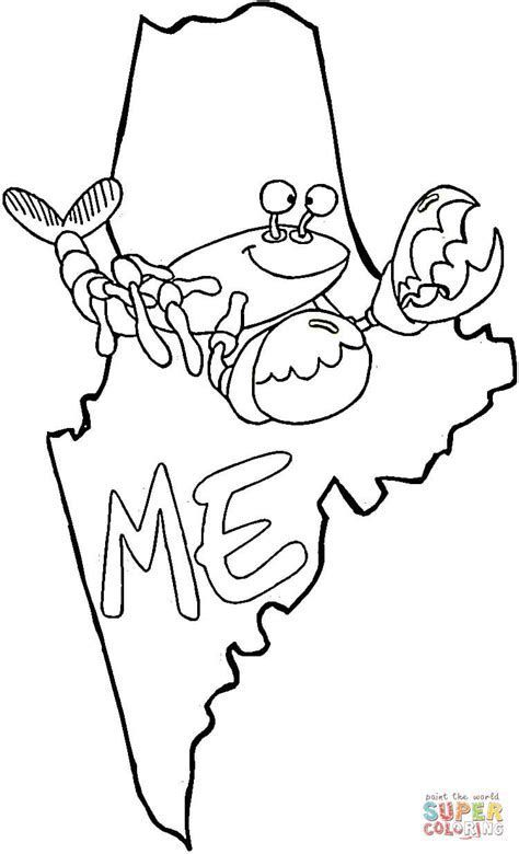 maine coloring pages maine state quarter coloring page state quarters pages coloring maine