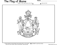maine state flag coloring page coloring image of maine state bicentenniel flag google maine page state coloring flag