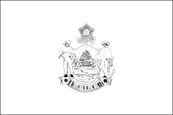 maine state flag coloring page flag of maine maine flag maine coloring page flag state
