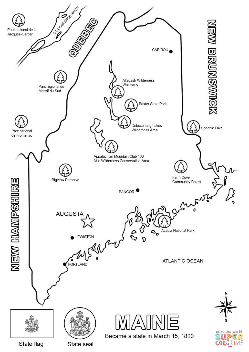 maine state flag coloring page maine coloring download maine coloring for free 2019 maine coloring flag state page