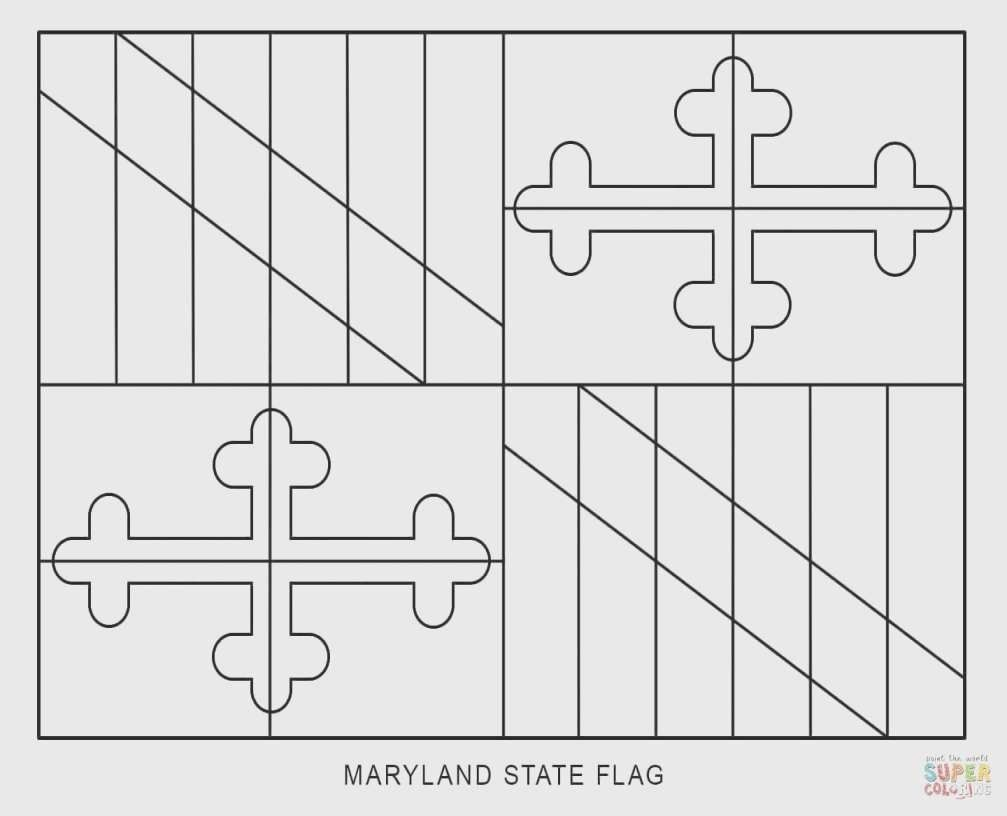 maine state flag coloring page maine state flower coloring page di 2020 page flag state coloring maine