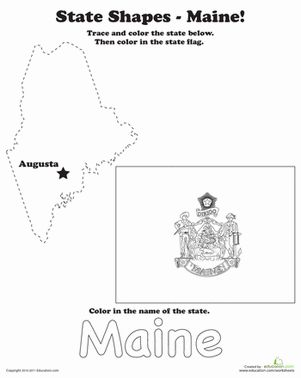 maine state flag coloring page trace the outline of maine flag coloring pages coloring flag page maine state
