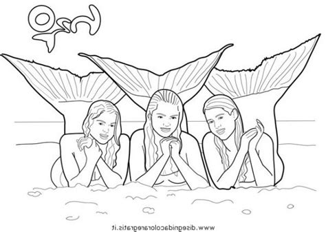 mako mermaids coloring pages ausmalbilder meerjungfrau mako mako einfach meerjungfrau mermaids mako pages coloring
