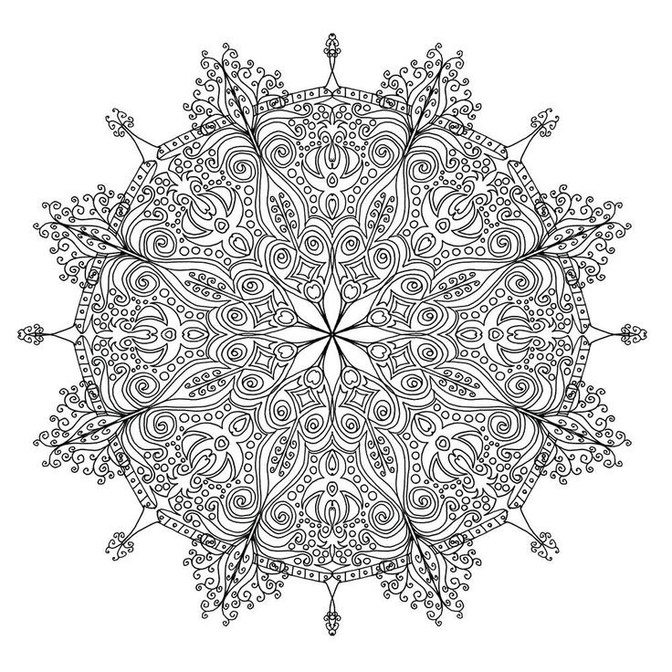 mandala hand coloring pages free image on pixabay drawing hand drawn mandala how pages coloring hand mandala