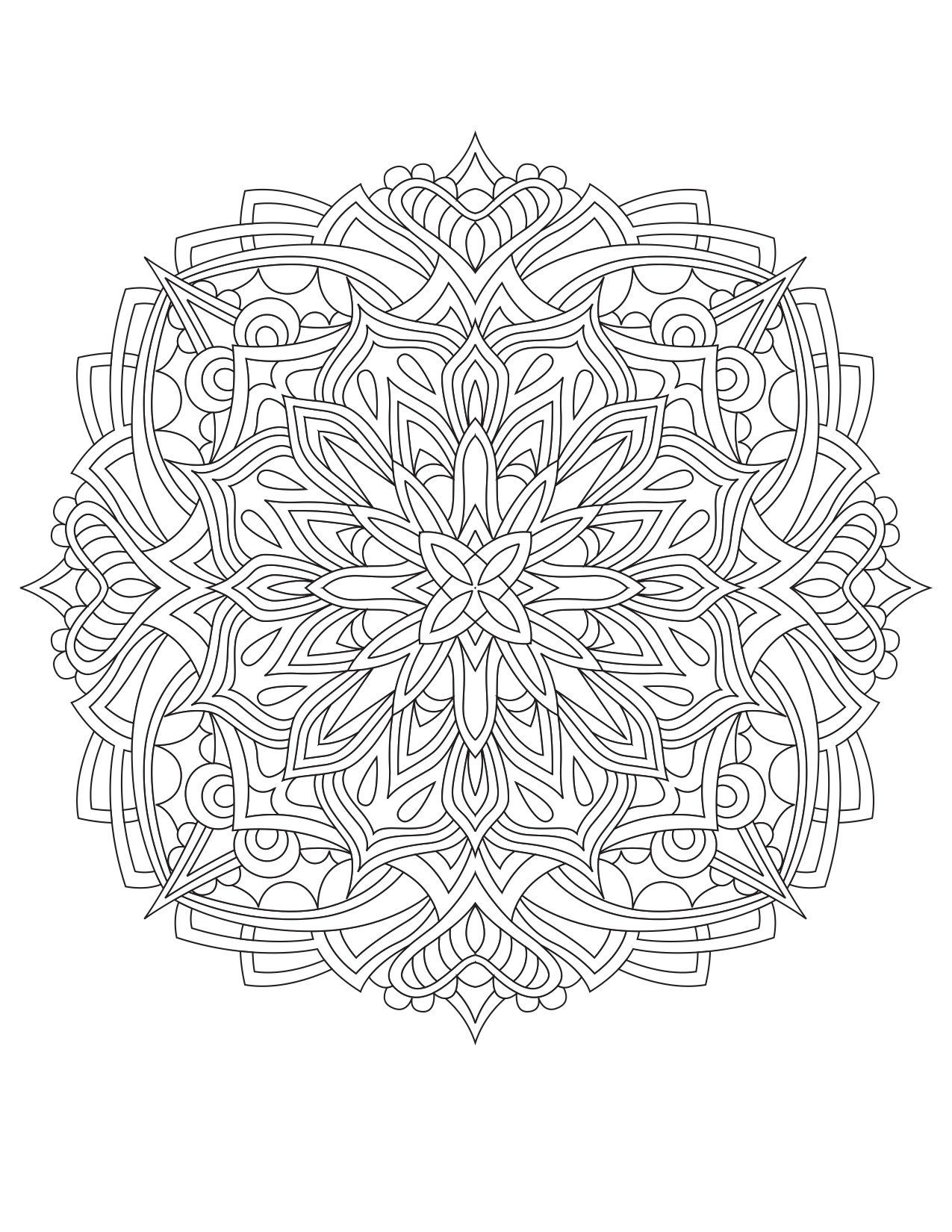 mandala hand coloring pages hand drawn mandala pages hand coloring mandala