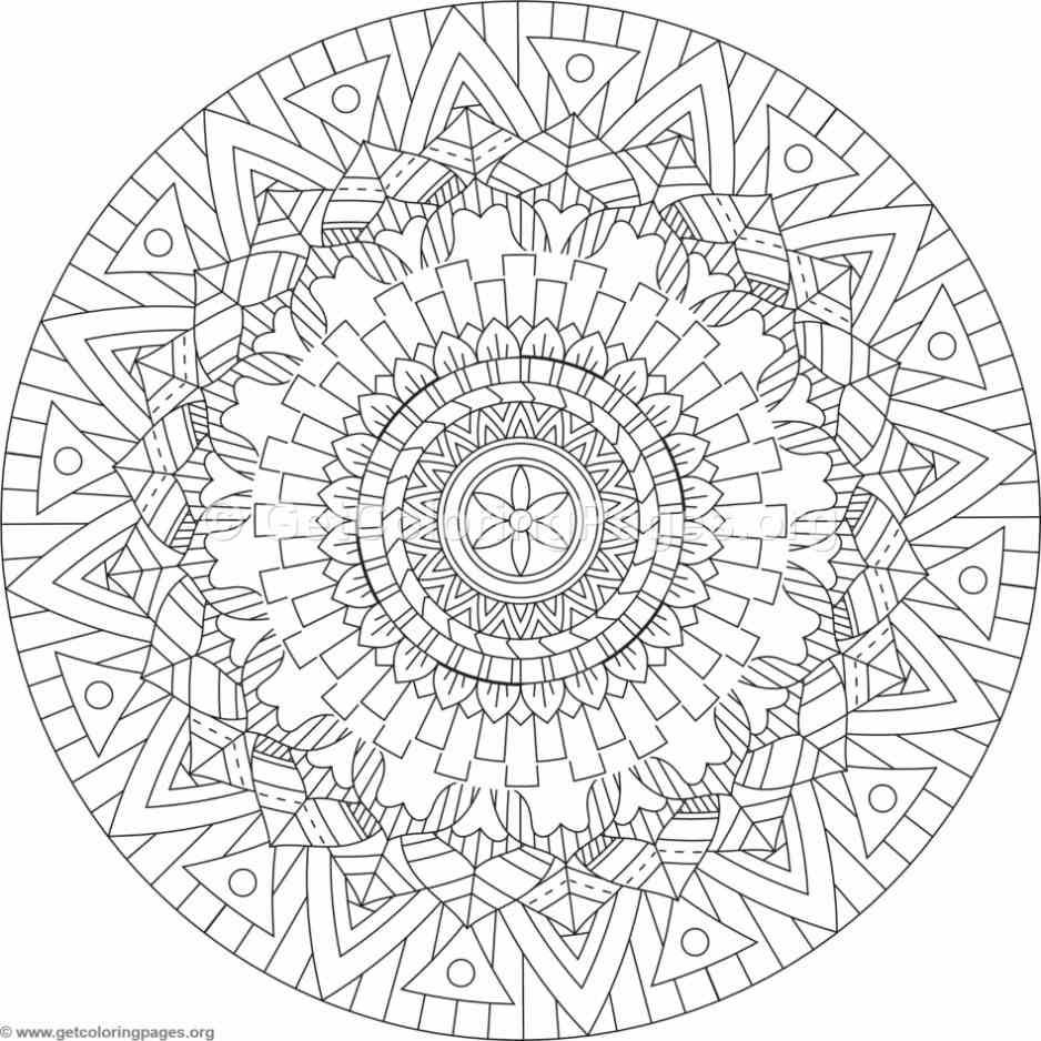 mandala hand coloring pages hand inked doodles to print and colour full size high pages coloring hand mandala