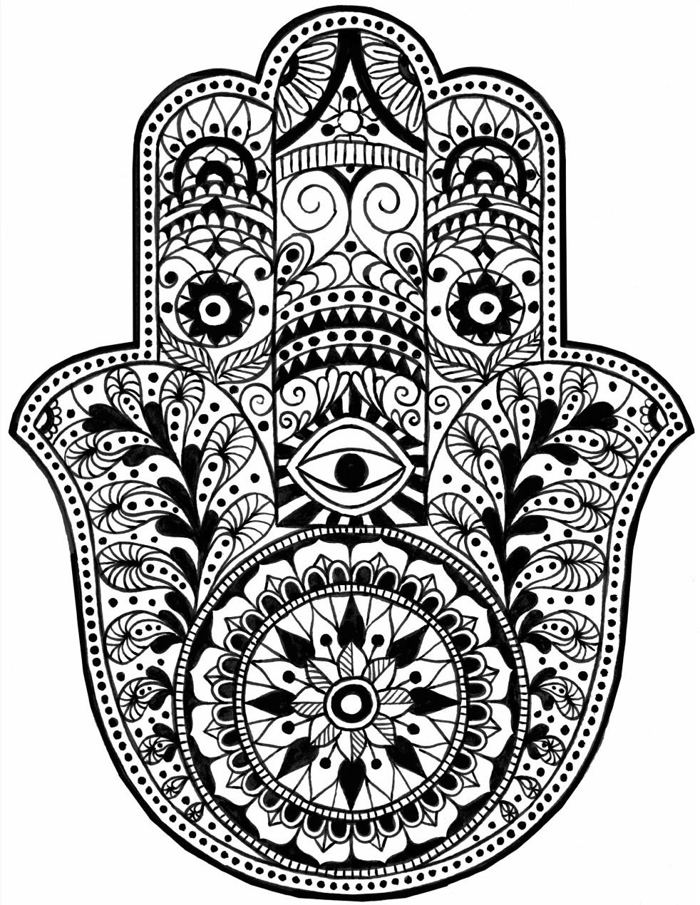 mandala hand coloring pages mandala coloring page digital download pointsettia and coloring mandala hand pages