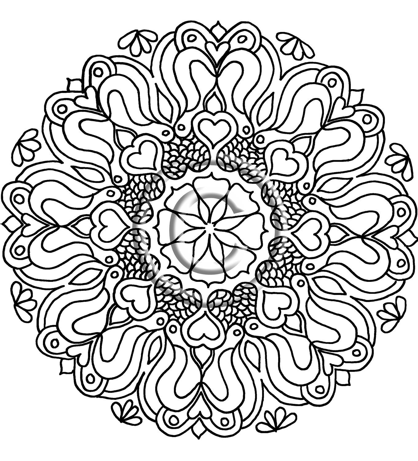 mandala hand coloring pages pin by todos con las manos on ultimate coloring pages coloring mandala pages hand