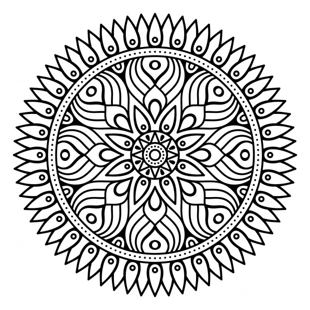 mandala outlines how to draw a mandala with free coloring pages outlines mandala