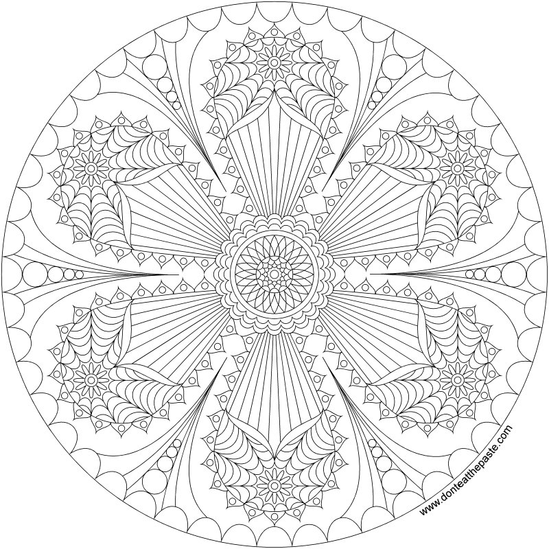 mandala pages don39t eat the paste happy mandala to print and color pages mandala