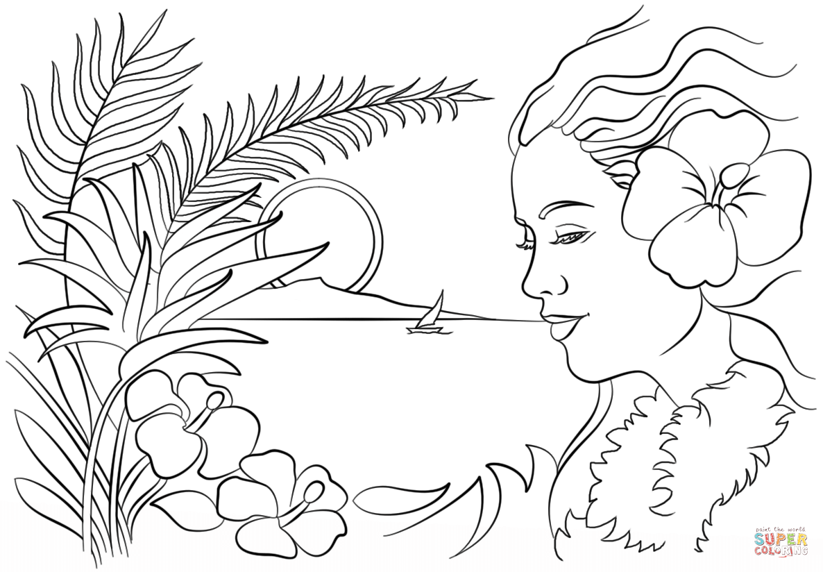 map of hawaii coloring page beautiful hawaii coloring page free printable coloring pages hawaii page coloring map of