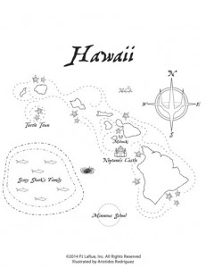 map of hawaii coloring page coloring sheets the mystic princesses hawaii page of coloring map