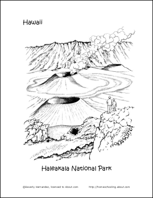 map of hawaii coloring page free printable hawaii coloring pages and related links coloring of hawaii page map