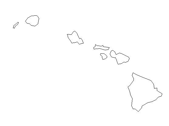 map of hawaii coloring page hawaii map outline printable state shape stencil hawaii coloring page map of