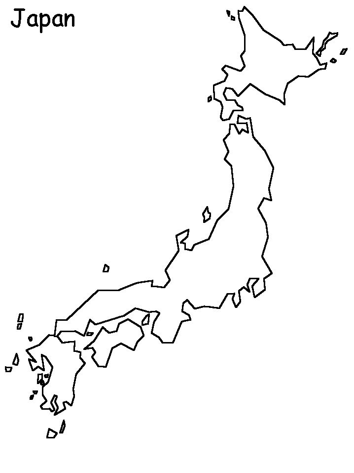 map of japan coloring page japan 6 coloring pages coloring book elementary japan page map coloring of