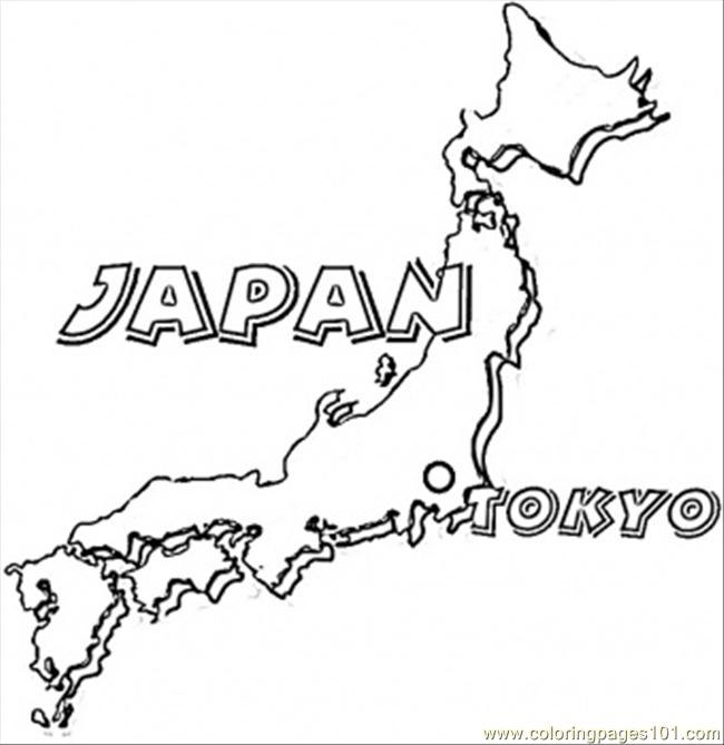 map of japan coloring page japan map coloring page a free travel coloring printable japan of page map coloring