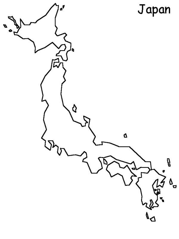 map of japan coloring page japan world map coloring page coloring sky japan coloring of page map