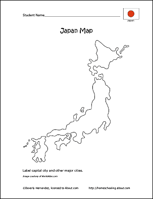 map of japan coloring page printable map of japan coloring home japan page map of coloring