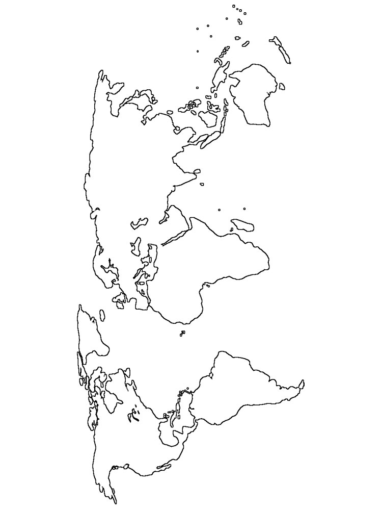 maps coloring pages printable world map coloring page for kids cool2bkids coloring maps pages
