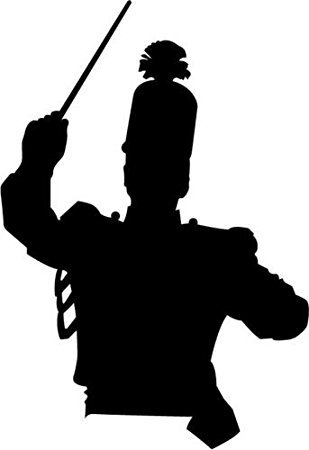 marching band silhouette marching band black on white clip art at clkercom silhouette band marching