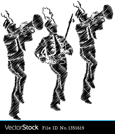 marching band silhouette musical ensemble silhouette marching band big band band silhouette marching band